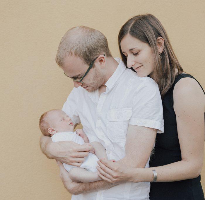 Une séance photo de naissance à Colmar en Alsace