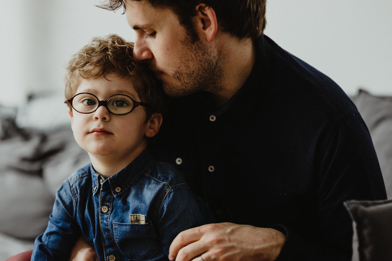 père et fils amour profond