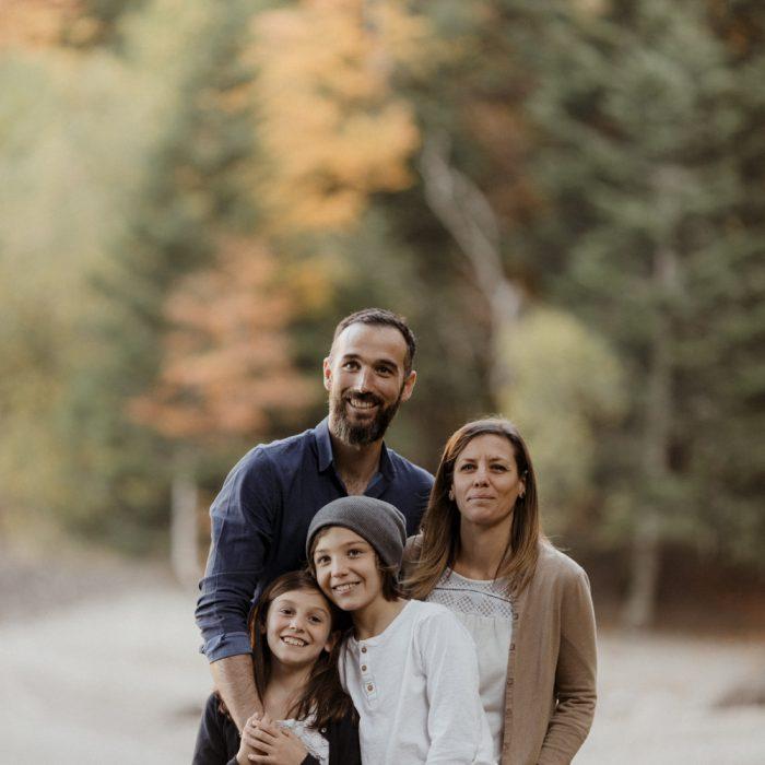 Une séance photo en famille dans les montagnes d'Alsace