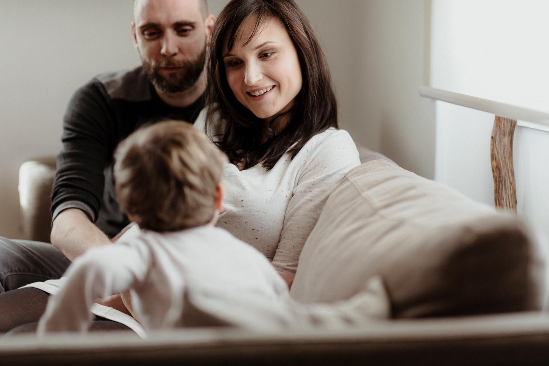 photographe de famille, parents et fils