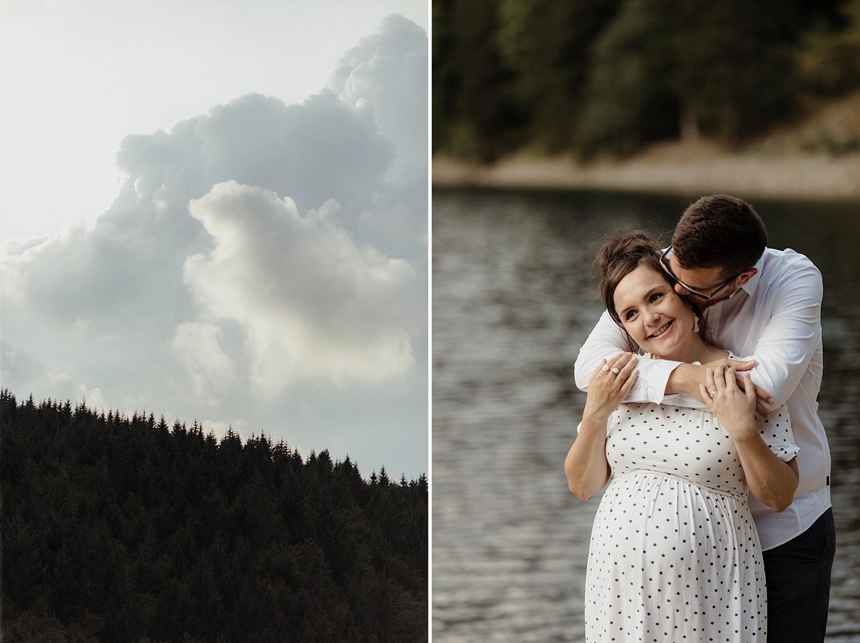 Photo grossesse pour couple amoureux