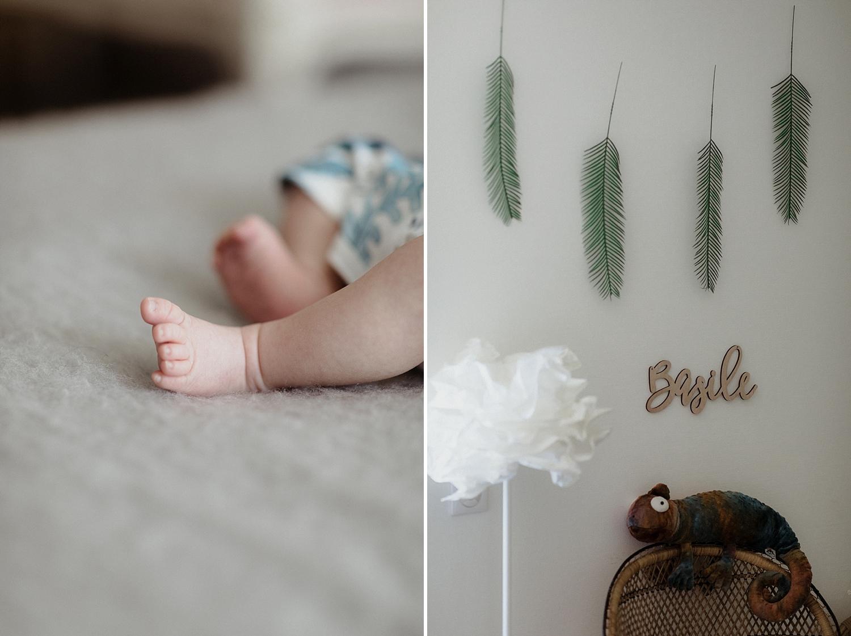 photo pieds nouveau né