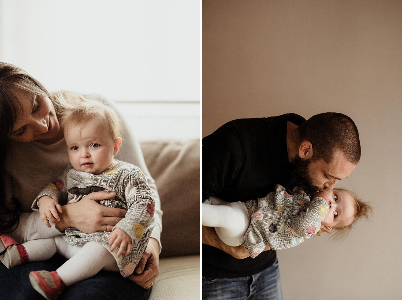 photo mama et papa avec fille